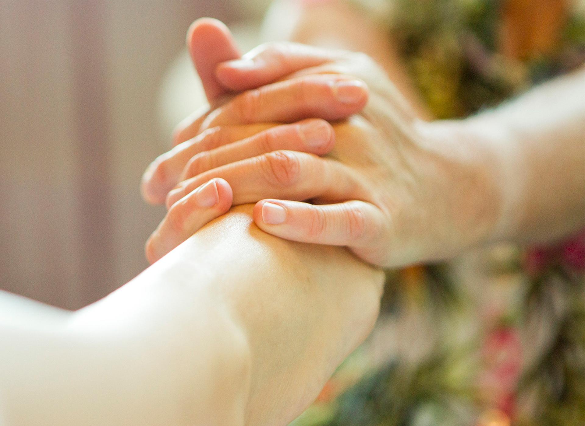 Ontspannende voet(reflexPlus) massage